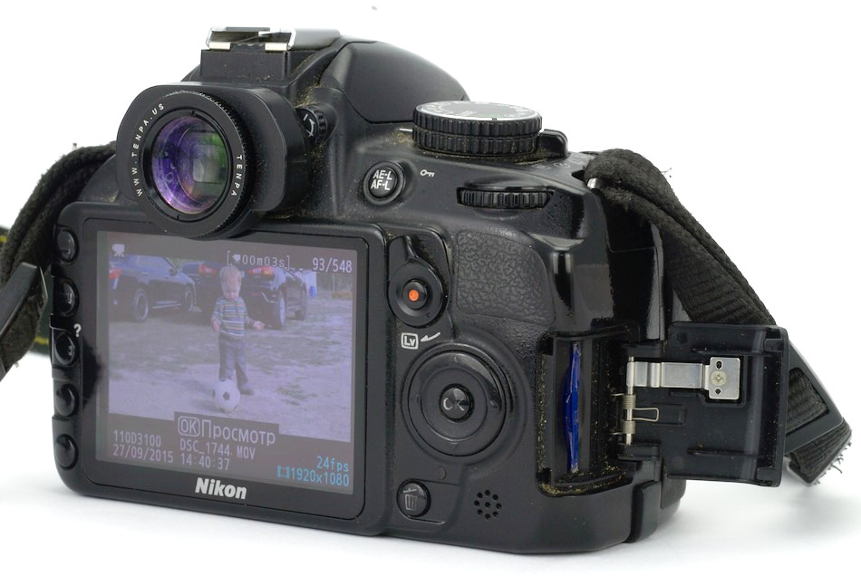 D3100 схема вспышки