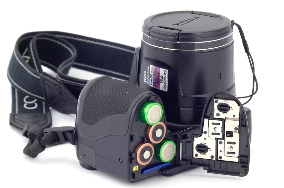 Стоит ли покупать фотоаппарат на батарейках
