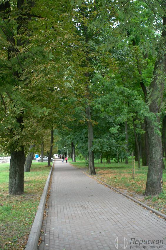 парк КПИ, аллея параллельная проспекту Победы 88b2a6a9b24