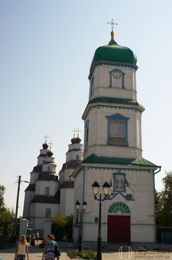 Троицкий Собор в Новомосковске центральный вход