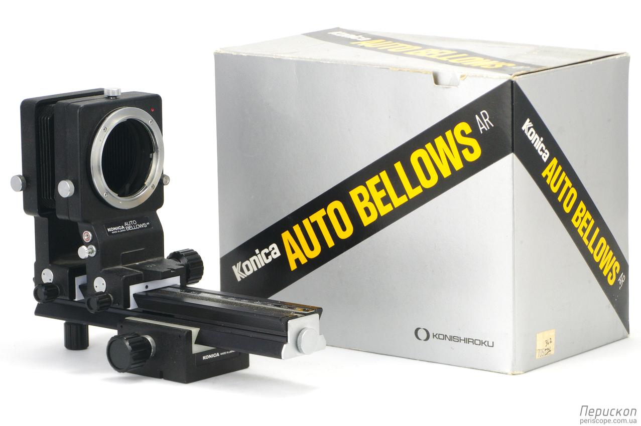 макромех Konica Auto Bellows AR с упаковкой