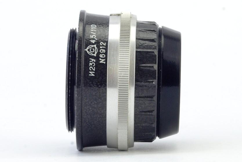 Оптическая схема объектива: 4