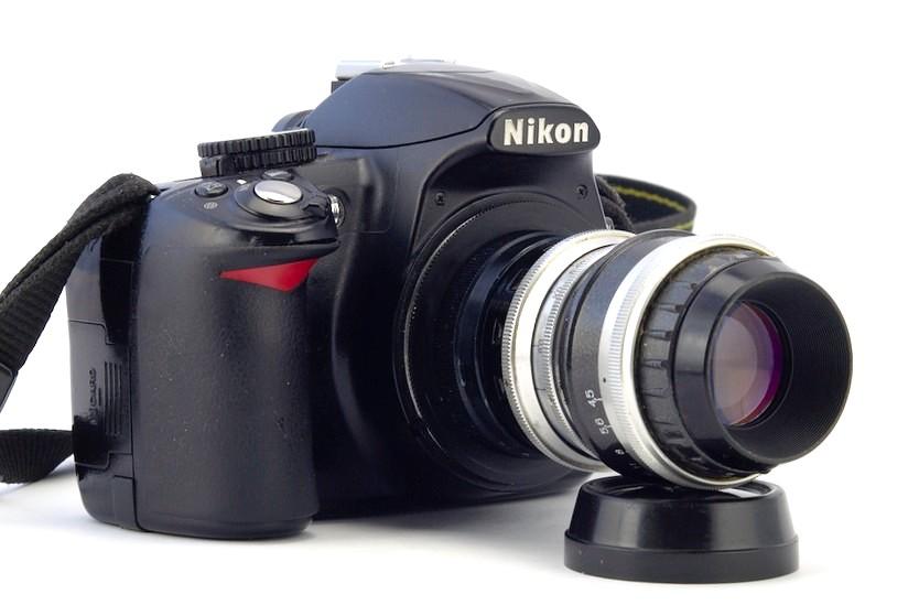 самодельный объектив для фотоаппарата многих
