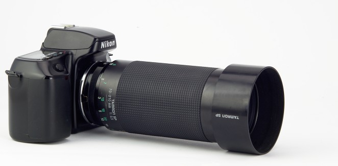 Tamron SP 70-210 mm f/3,5 Adaptall-2 model 19AH