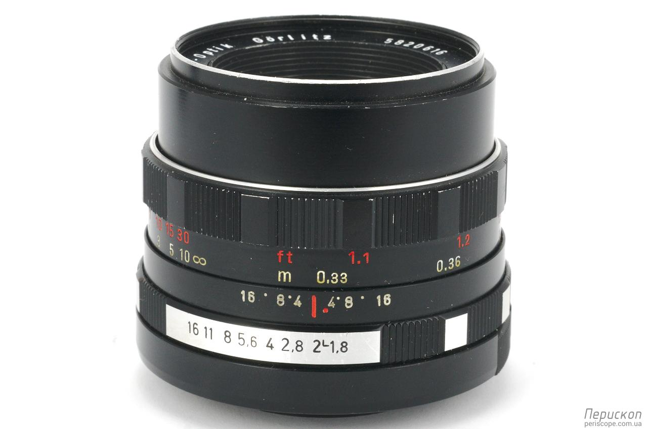 Meyer Optik Gorlitz Oreston f 1.8 50 при МДФ