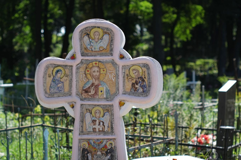 Форма креста Лукьяновское кладбище