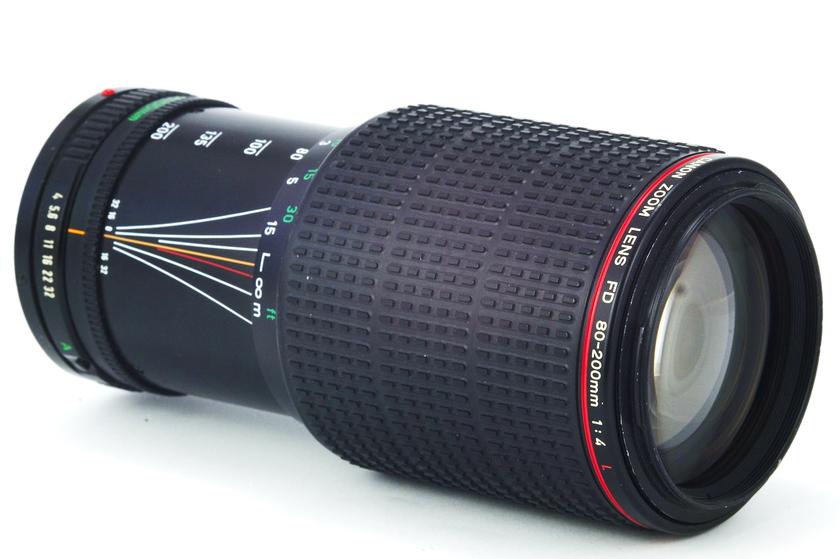 Обзор Canon Zoom Lens FD 80-200mm 1:4 L