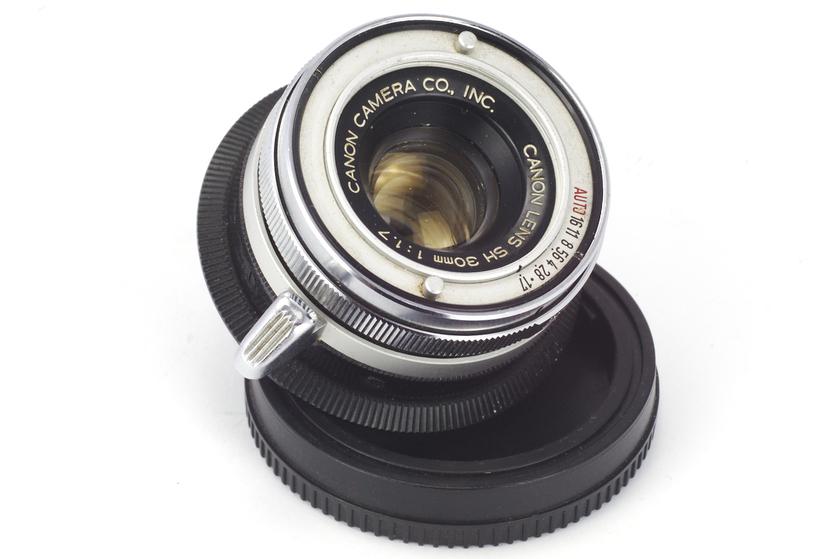 Canon Lens SH 30mm 1:1.7