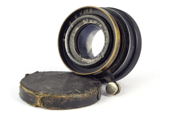 Объектив C. P. Goerz Berlin Dopp-Anastigmat Serie III DAGOR 150mm f/ 6.8