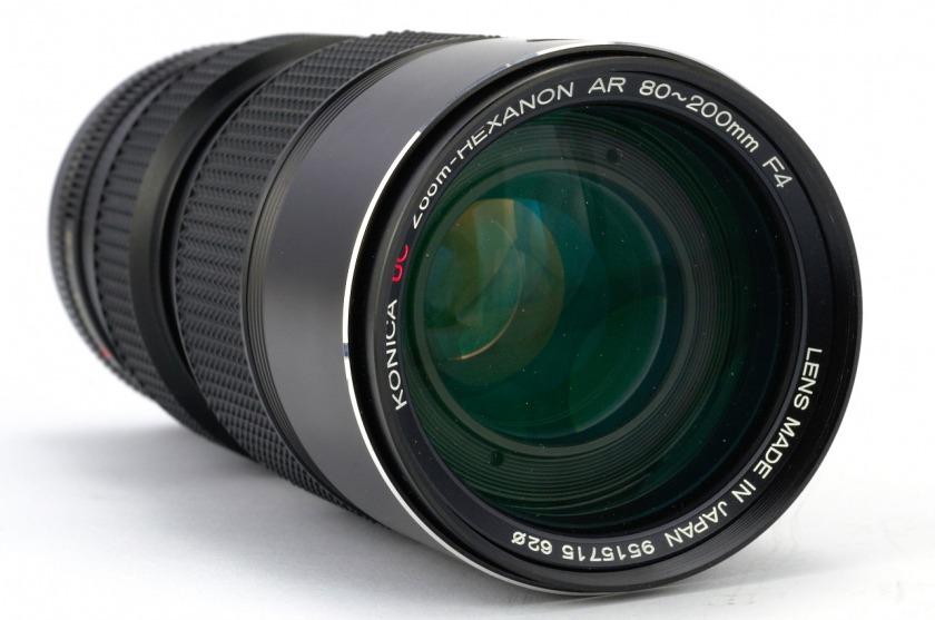 объектив Konica UC Zoom-Hexanon AR 80~200mm F4