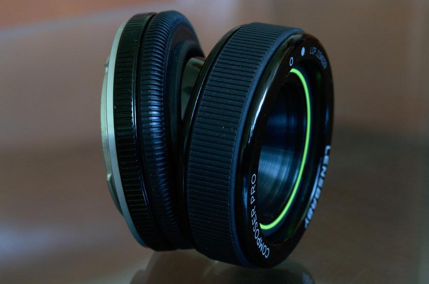 Объектив Lensbaby Composer Pro с насадкой Double Glass Optic для Pentax