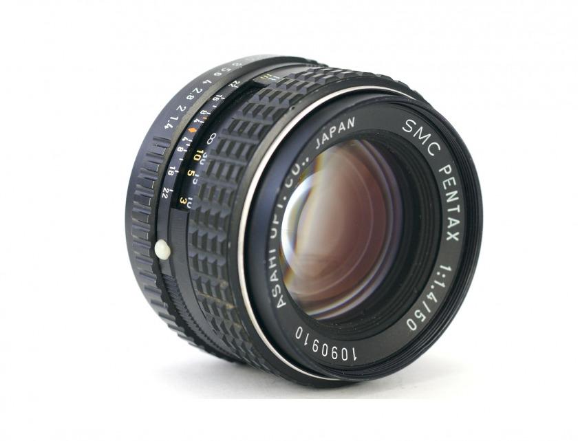 Обзор объектива SMC Pentax-К 1:1,4 50mm