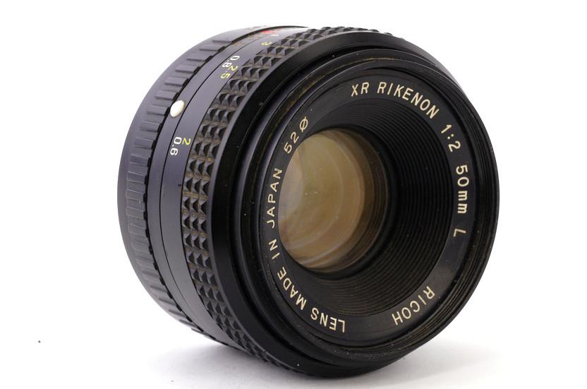 Обзор Ricoh XR RIKENON 1:2 50mm L