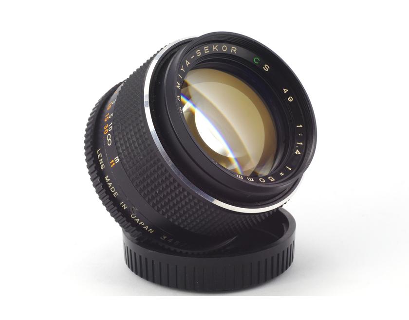 Обзор Auto Mamiya-Sekor CS 49 1:1.4 f=50mm