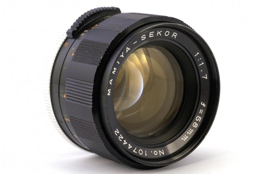 Обзор Mamiya-Sekor  1:1 1.7   f = 58mm