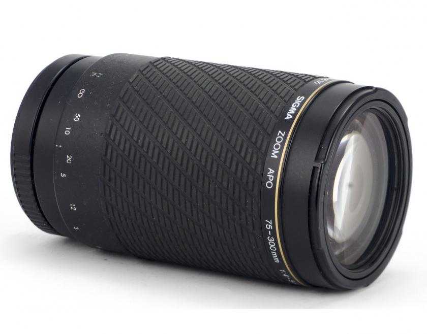 Обзор Sigma Zoom APO 75-300 1:4-5.6