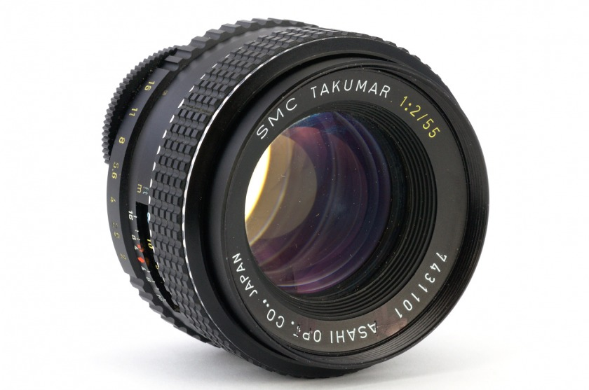 Обзор SMC Takumar 55 mm f 2.0