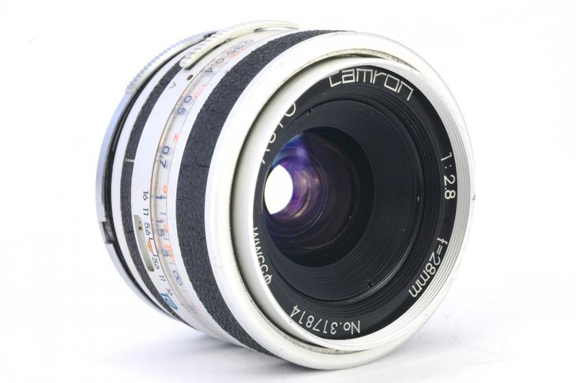 объектив Tamron 1:2.8 f=28mm (PFH-28)