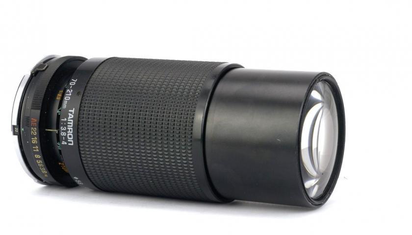 Объектив Tamron 70-210mm 1:3.8-4 Adaptall (model 46A). Обзор и примеры фото