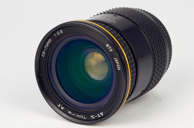 Tokina 28-70mm f/2.8 AT-X AF.