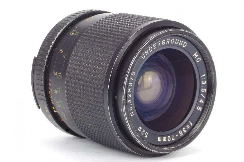 Обзор Underground MC 1:3.5/4.5 f=35-70mm