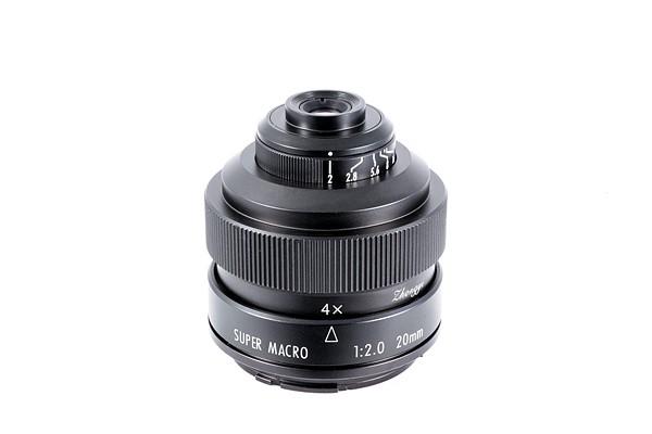 Zhongyi Mitakon 20mm f/2 4.5x Super Macro lens   Mitakon