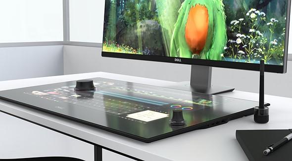 """Dell Canvas — 27-дюймовое """"умное"""" рабочее пространство"""