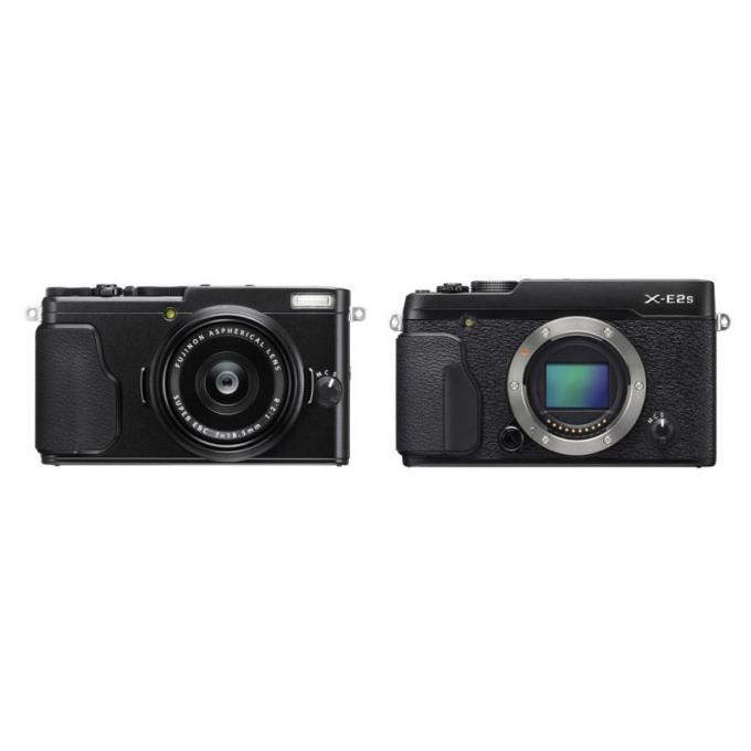 Fujifilm выпустила еще две беззеркальных камеры X70 и X-E2S   Перископ cdf44aaeb3c
