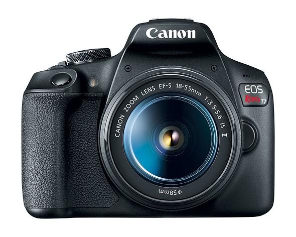 Canon представила новую модель зеркальной бюджетной камеры EOS 1400D (Rebel T7)