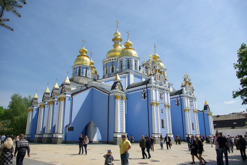 Михайловский Златоверхий монастырь. Фотопутешествие