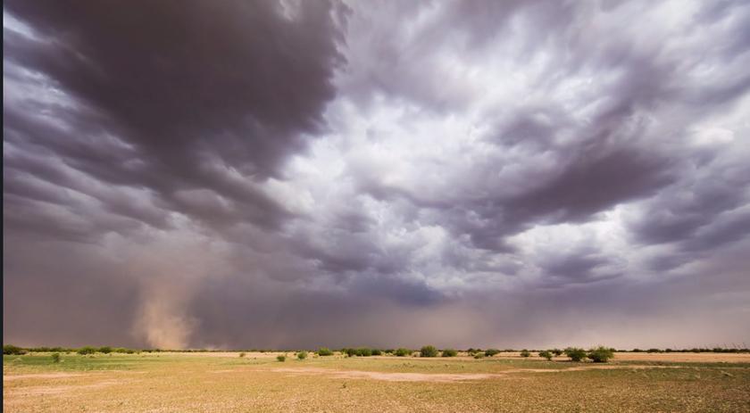 Monsoon III — муссон, короткометражный фильм с помощью таймлапс
