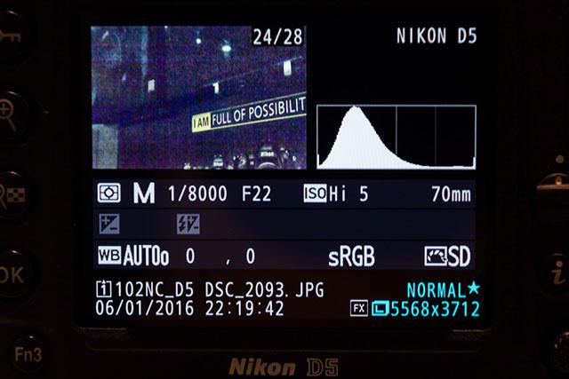 Изображения с ISO 3,280,000. Nikon D5