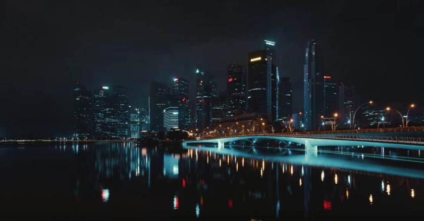 Город льва — таймлапс из Сингапура