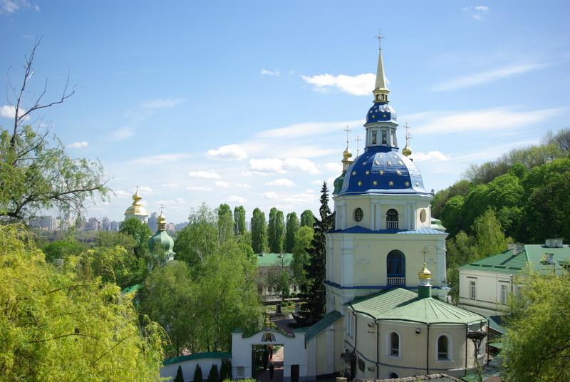 Выдубицкий монастырь. Фотопутешествие