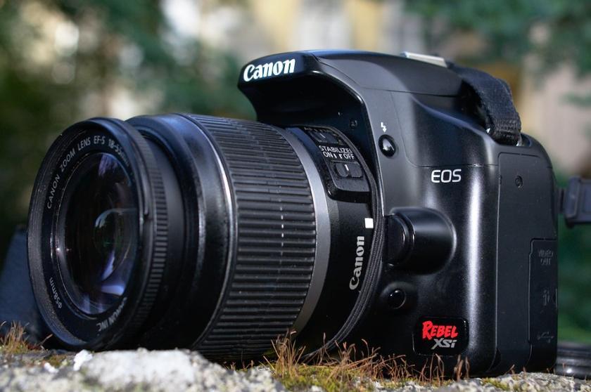 Фотоаппарат Canon EOS 450D. Обзор и примеры фото