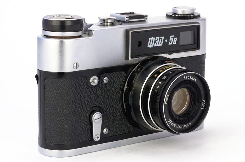 Дальномерный фотоаппарат ФЭД-5В. Обзор и примеры фото