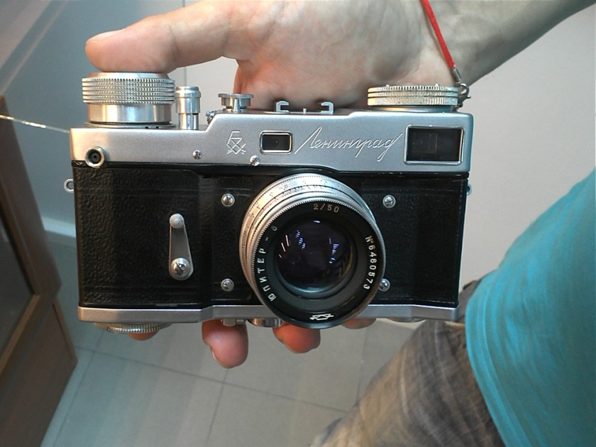 фотоаппарат Ленинград