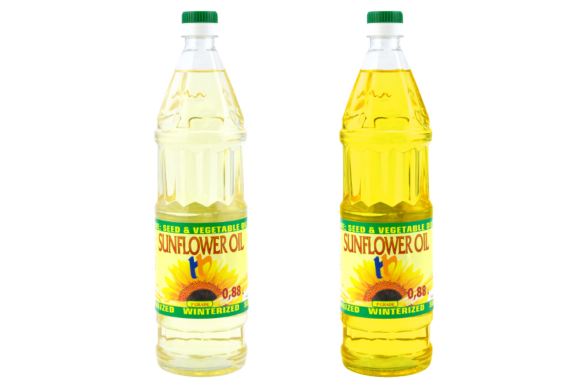 Изменение цвета подсолнечного масла в Gimp
