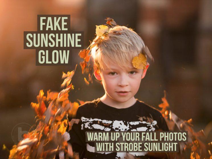 Искусственные солнечные засветы или как сделать теплее ваши осенние фото со вспышкой