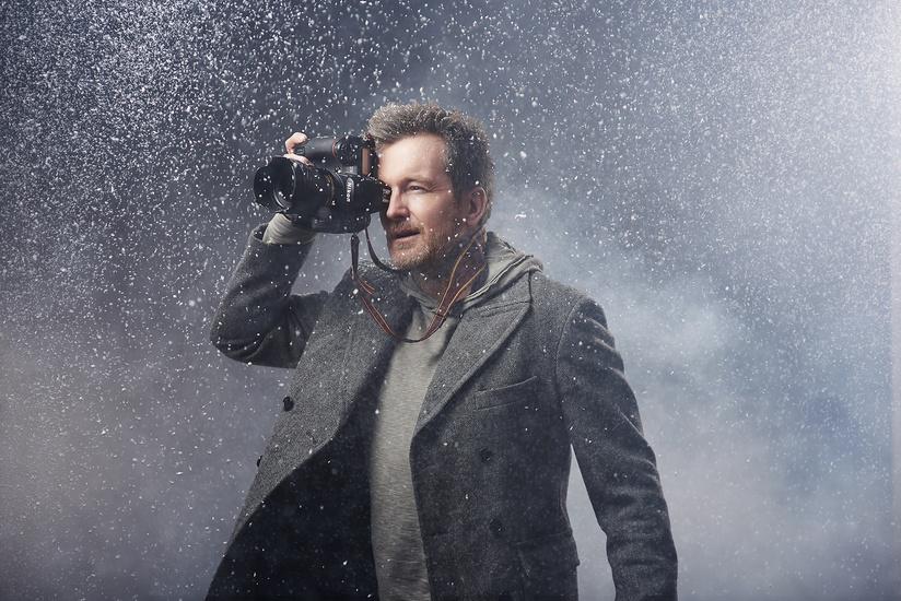 Как снимать снежные портреты в студии