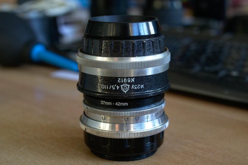 Самодельный геликоид для объективов от фотоувеличителей среднего формата