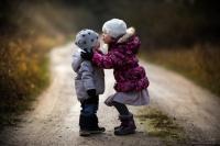 Как фотографировать детей на природе