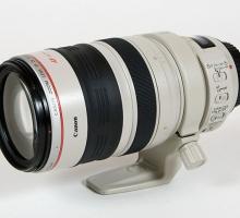 Почему некоторые объективы Canon белые