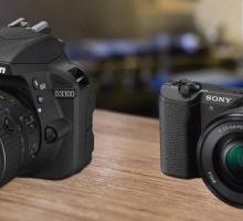беззеркальные и зеркальные цифровые камеры