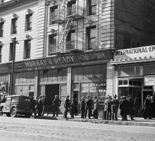 Сан - Франциско в период Великой депрессии. Доротея Ланж