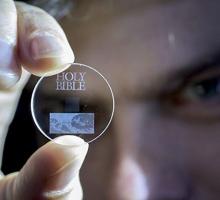 Этот диск может хранить 360 ТБ ваших изображений сроком 13,8 миллиардов лет