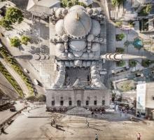 Городские пейзажи Стамбула созданные дроном