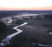 Дрвенца — съёмки с самодельного дрона