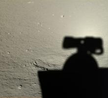 Китай показал фотографии поверхности луны