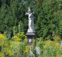 Лукьяновское кладбище в объективе